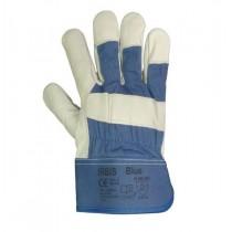 IRBIS BLUE Rękawice ze skór...
